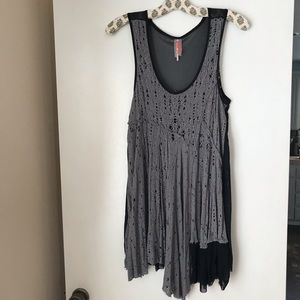 Free People Dresses - RARE Free People Luscious Lagoon Slip in grey